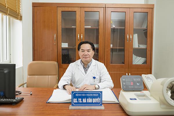 Giáo sư Hà Văn Quyết